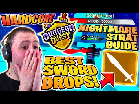 Dungeon Quest Roblox Tutorial Steam Community Video Rarest Sword Drop Best Build Strat Guide Solo Dungeon Quest Nightmare Winter Hc Roblox Pro Pc