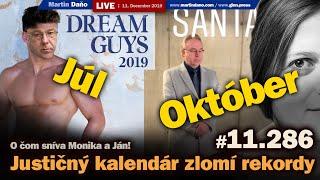Live: Nový justičný kalendár zlomí rekordy. O čom sníva Monika a Ján #11.286