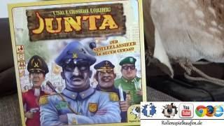 Vorstellung der JUNTA Regeln. Alle Phasen im Detail |Dan's Brettspielecke