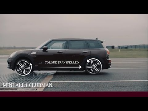 The MINI Clubman | Discover how ALL4 All-Wheel Drive works