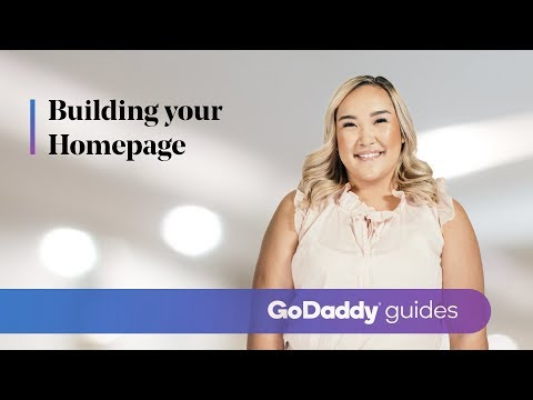 Building Your Homepage