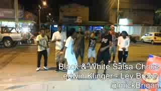 Black & White Salsa Choke