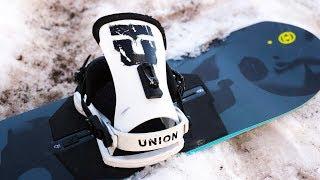 Union Bindings On A Burton Channel Snowboard?