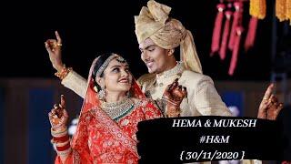 Hema & Mukesh | Wedding Highlight | RK Wedding Photography | Best Wedding Highlights 2020 | Pali .