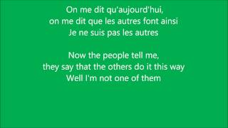Celine Dion - Pour que tu m'aimes encore (with English lyrics in tune with song)