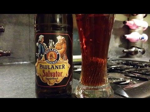 Paulaner Salvator Doppelbock By Paulaner Brauerei | German Craft Beer Review