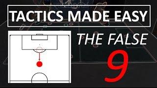 Explaining football tactics - The false 9
