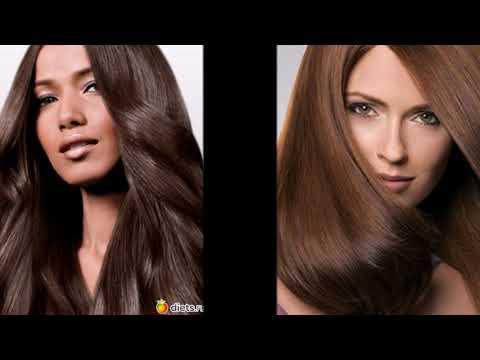 Коричневые цвет волос модный в 2018