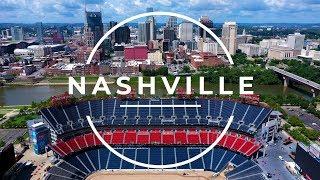 Nashville, TN   The Music City   4K Drone Story