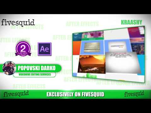 Edit Your After Effects Template From Videohive For Kraashy - After effects template editing