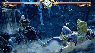 Soulcalibur 6 - Geralt vs Maxi (Soulcalibur VI 2018) PS4 Pro