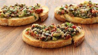 Olive Tapenade Italian Appetizer Recipe