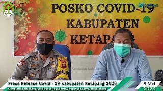 Press Release Covid -19 Kabupaten Ketapang (9 Mei 2020)