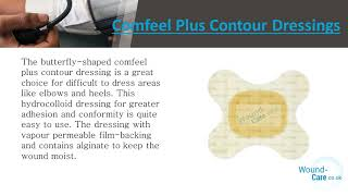 Comfeel Plus – Hyrdocolloid Dressings for Treating Exuding Wounds