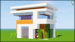 construction dune maison moderne dans minecraft - Free video search ...