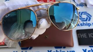 79446445be Xship.vn  Ray-Ban Marshal Sunglasses RB3648 001 54mm