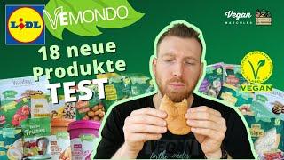 Lidl Vemondo XXL TEST - 18 vegane neue Produkte im Juli