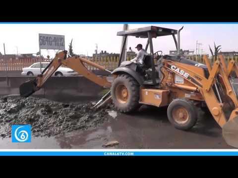ODAPAS realiza limpieza en avenida Casino de la Selva después de las fuertes lluvias