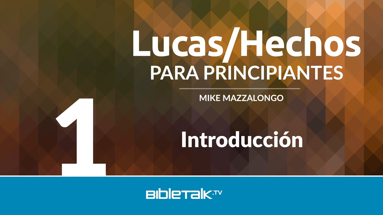 1. Introducción a Lucas/Hechos