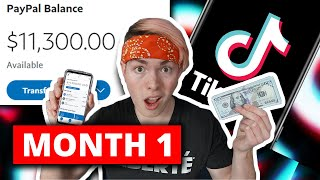 How To Make Money On TikTok From SCRATCH (2021)