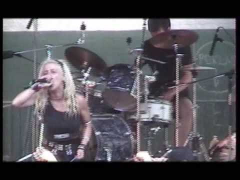 Cyness live in Obscene extreme 2002 online metal music video by CYNESS