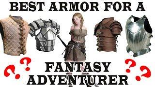 Best historical armor for a fantasy adventurer? FANTASY RE-ARMED