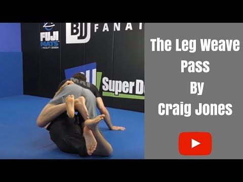 Leg Weave Pass par Craig Jones