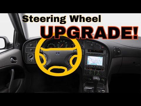 Steering Wheel Upgrade In The Saab 9-5
