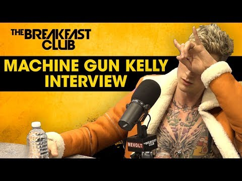 "MGK acaba com o Eminem em nova entrevista ao ""The Breakfast Club"""