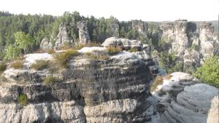 preview picture of video 'Bastei und Felsenburg Neurathen'