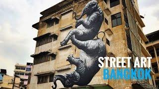 (ENG) Bangkok Street Art scene