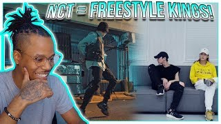 Reacting To NCT TEN Choreography + NCT TAEYONG Freestyle Dance! | NCT = Dance KINGS