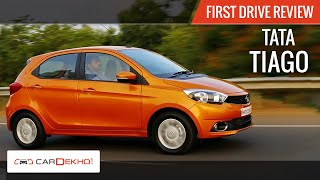 2016 Tata Tiago First Drive Video Review