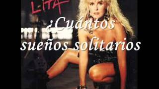 Lita ford Under the Gun Subtitulado (Lyrics)