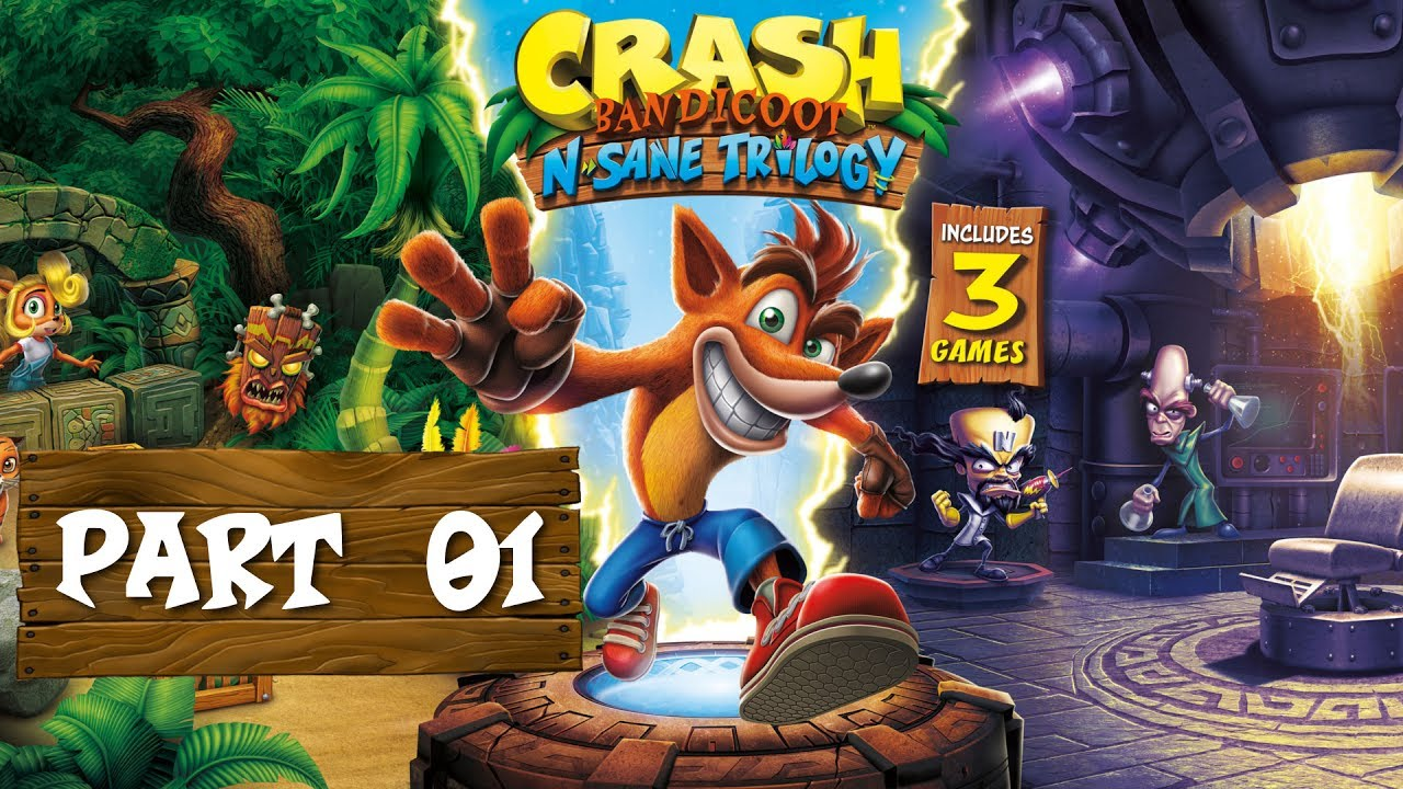 Crash Bandicoot N. Sane Trilogy – 01 – OOGA BOOGA!
