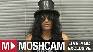 Slash talks best shows, stage invaders and Justin Bieber   Moshcam