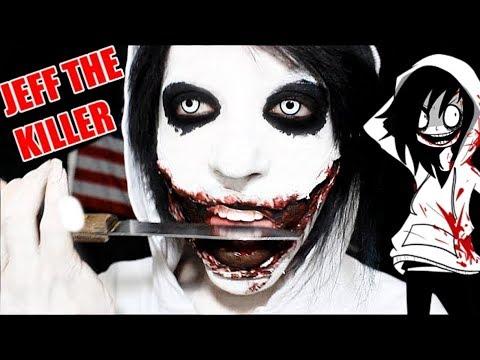 JEFF THE KILLER - creepy pasta - Maquillaje FX