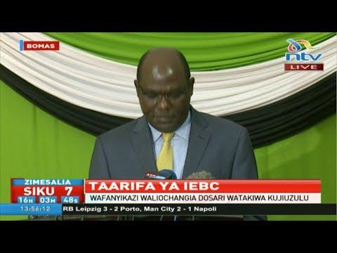 I will not resign as IEBC chair - Wafula Chebukati insist
