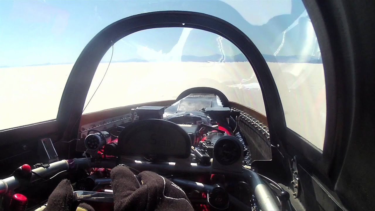 Driving At 745KM/H Is Ludicrous From Any Angle