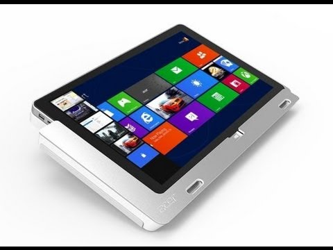 Acer Iconia W700 Windows 8 Tablet Unboxing http://techblog.tv/