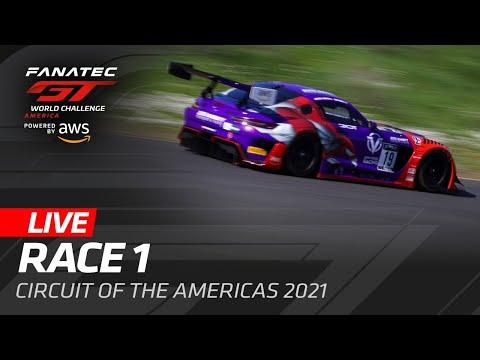 ブランパンGTワールドチャレンジ・アメリカ(COTA)Race1ライブ配信動画