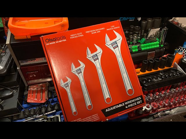 Youtube Video for Adjustable Wrench | Wide Jaw | Low-Rattle by Midwest Tool Review
