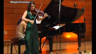 Béla Bartók -- Şase dansuri româneşti (Patricia Copacinskaia şi Mihaela Ursuleasa, 2011)