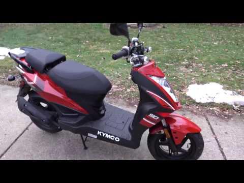 2015 Kymco Super 8 50R Preliminary Review