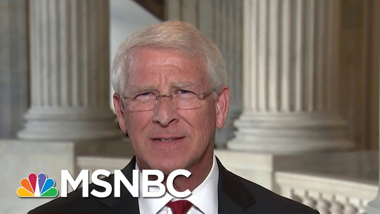 Sen. Roger Wicker: Would've Told Bob Corker Not To Get Into 'Spitting Contest' | | MTP Daily | MSNBC thumbnail