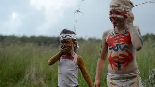 Индейцы в поселении родовых поместий #Стрелёнки