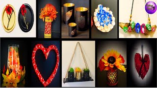 10 Easy Room Decor   Craft Ideas Waste Material  Art Craft   Fashion Pixies