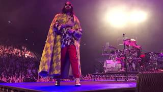 UP IN THE AIR from side stage - 30 Seconds To Mars Monolith Tour Paris Bercy - 14/03/2018