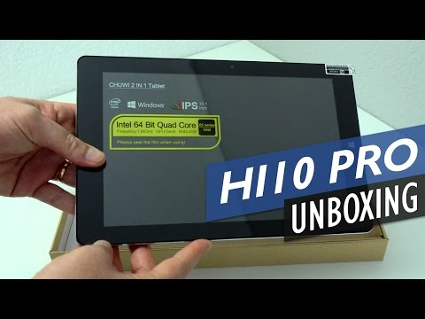 Chuwi Hi10 Pro Unboxing And First Look