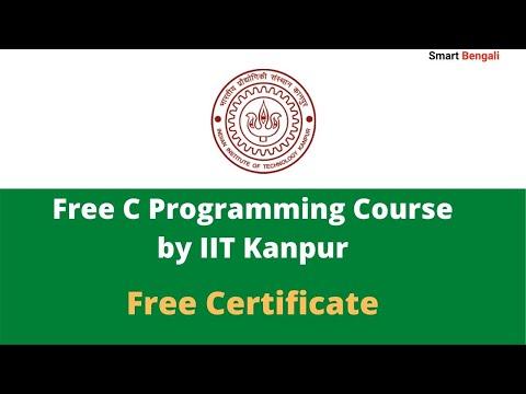 C programming tutorial by IIT - Free Certificate - YouTube